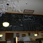 Black Board Menu