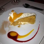 Spectacular Cheesecake served Xmas Day 2012 - forget the calories occasionally!