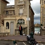 Taken next to the Sofitel Biarritz Dec2012