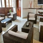  Lobby de nuestro Hotel Casa Los Puntales