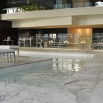 jaccuzzi and pool areas
