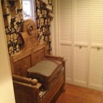 Carriage House #4 Suitcase area
