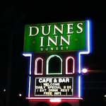 Dunes Inn Sunset at night