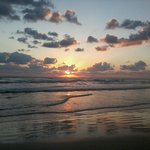 Daytona Beach Shores around 7 a.m