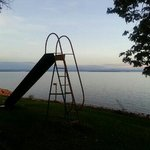 playground near the lake