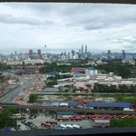  View of the KL skyline from our 20th floor unit