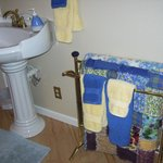 Bathroom of room Mom used