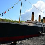 This 1/10 scale model of Titanic has taken 12 years to build with pieces still to add.