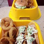 Joey Doggs Burger and Fries
