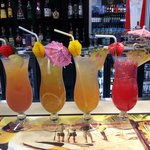 Refreshing mocktails