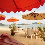  restaurant de plage du samui sens