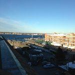 day view of Newport Bay from the balcony