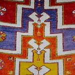  motif of a carpet
