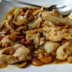  poulet sauce caramel et noix de cajou