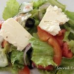 Citrus Greek salad