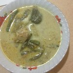 Soup that comes with the nasi campur