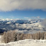 View from Plan Peisey, Les Arcs