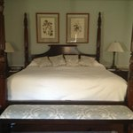 The Palladian Suite, King bed