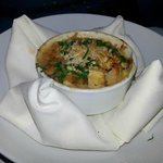 New England Style Shrimp and Alaskan Crab Cassoulet with Sweet Corn, Garden Tomatoes and Great N