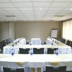 The Clarion Hotel Conference Room