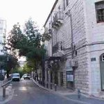  Horkanos street- the hotel is in right side