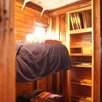  The bunk-bed in the room