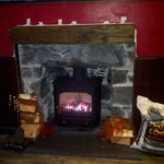  cosy fire in the bar for warm winter nights