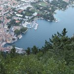  view of Riva del Garda from the top