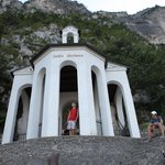  the Santa Barbara chapel at the top of the hike