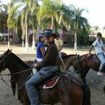horse riding as add on to package