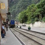  Rail by the front of the hostel