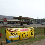 Cafe, store and car repair....No gas for sale