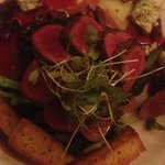  Tasmanian Wallaby with beetroot and goats cheese