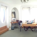 Panoramic view of the living area - nice and light and airy