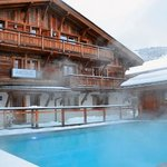 Les Loges Blanches Megeve - Swimming Pool