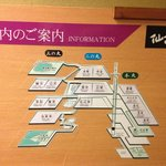 Ryokan building map