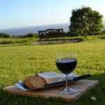 Cheese and Wine with a wonderful view