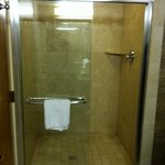 very large nice shower