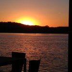 Summer sunset on Lake Burley Griffin