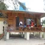 our Sumba -style cottage on the beach!