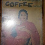 Old poster of Ragini at Indian coffee house