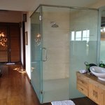 master indoor bathroom - keep going and there is an outdoor shower