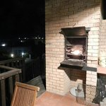 Braai area on the patio