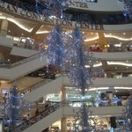 Inside the Mall just before Christmas 2012