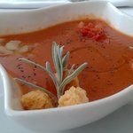 Gazpacho aragons con verduritas
