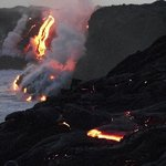  Lava flows seen from tour in 1/2013