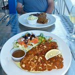  Almond crusted grouper - my favourite meal!