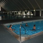  The huge indoor pool at The Fairmont resort, Anaconda