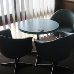 Cool retro chair & tables