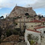  view of the acropolis from the room